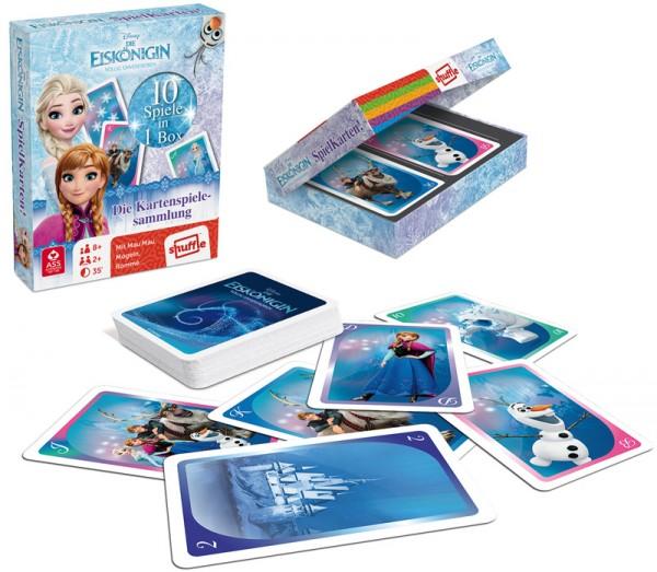Kartenspielesammlung Die Eiskönigin Spielkarten 10in1