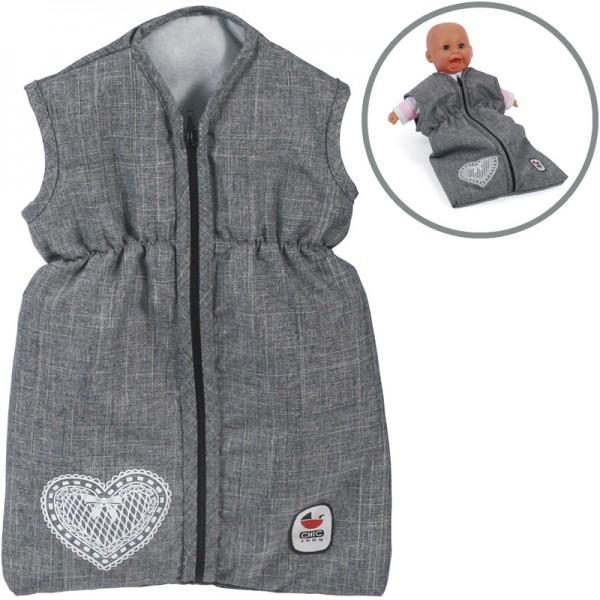Puppenschlafsack (Jeans Grey)