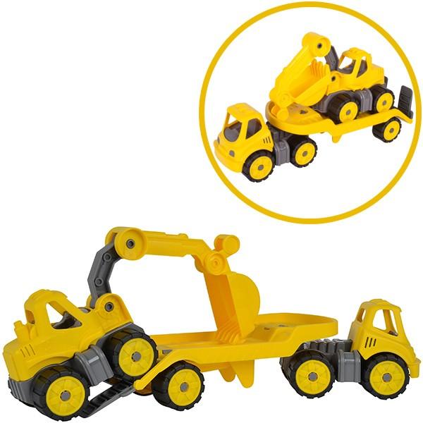 Power Worker Mini Transporter und Bagger