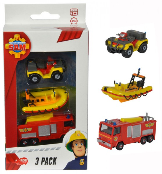Feuerwehrmann Sam 3er Pack Jupiter, Neptun und Mercury