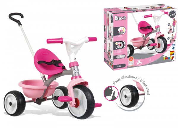 Dreirad Be Move Girl (Rosa-Pink)