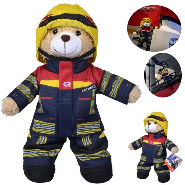 Feuerwehr Plüschbär Rosenbauer 30 cm