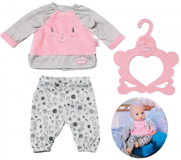 Baby Annabell Sweet Dreams Pyjama 43 cm (Rosa-Grau)