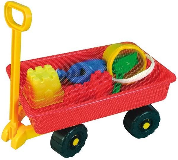 Hand-Sandwagen mit Sandspielzeug 100 Kg Tragkraft