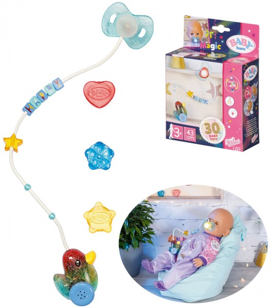 Baby Born Happy Birthday Interactive Magic Schnuller (Bunt)