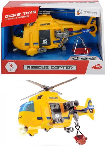 Rettungshubschrauber Rescue Copter mit Licht & Sound