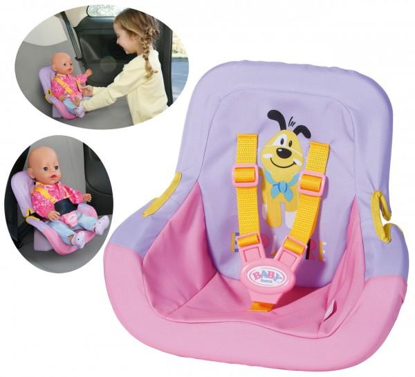 Baby Born Autositz (Rosa-Lila)