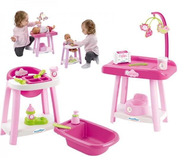 Meine erste Puppenpflegestation 3in1 (Pink)