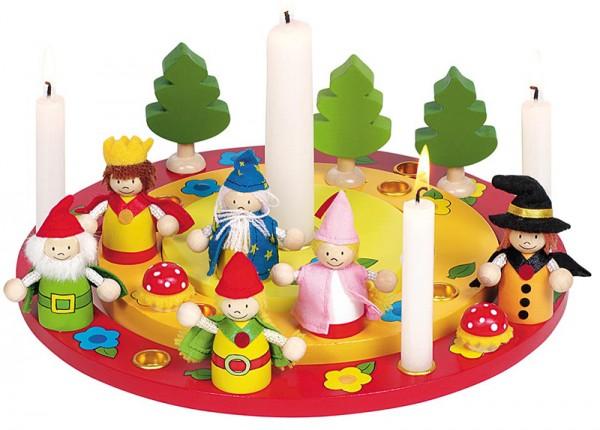Geburtstagskranz Waldwichtel