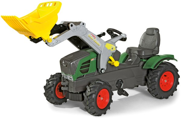 RollyFarmtrac Fendt 211 Vario Traktor mit Frontlader und Luftbereifung