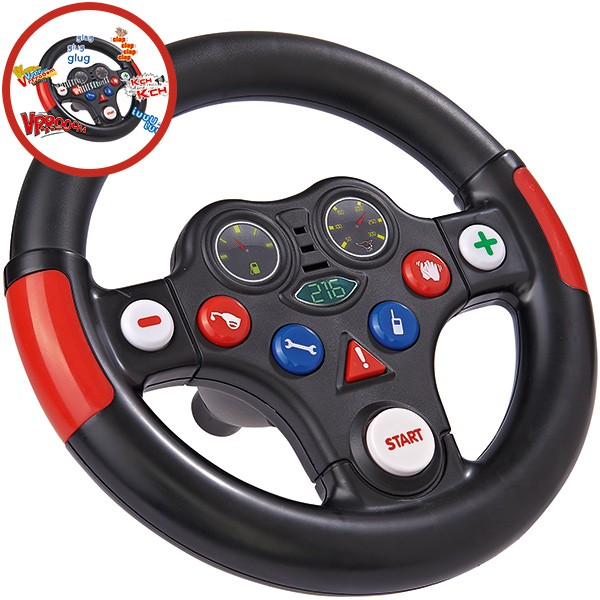Bobby Car Racing Sound Wheel Lenkrad
